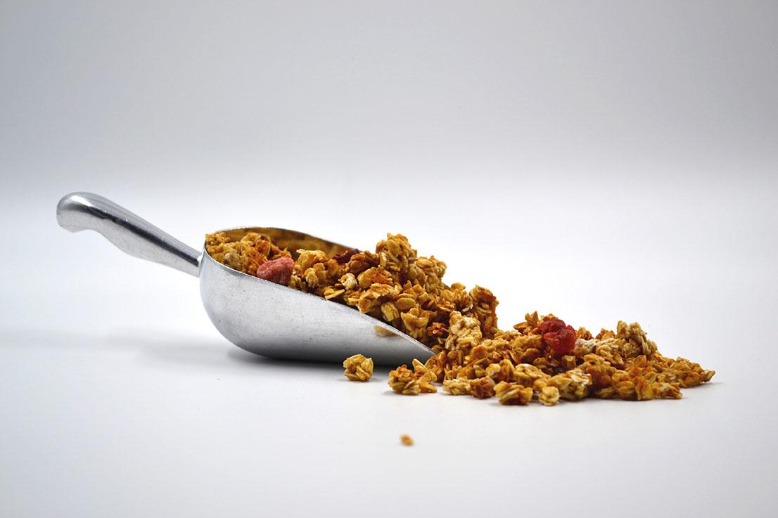Granola Berries baja en calorias - Espacio Granel